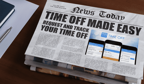 Time Off Newspaper