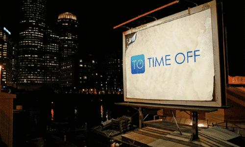 Time Off Billboard 2