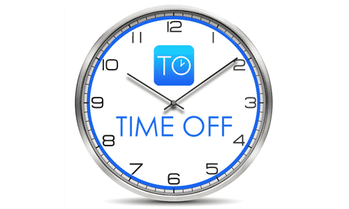 Time Off Clock