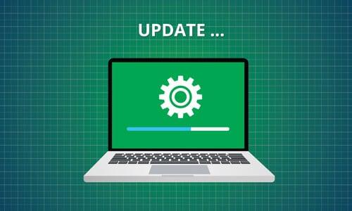 update green macbook pro