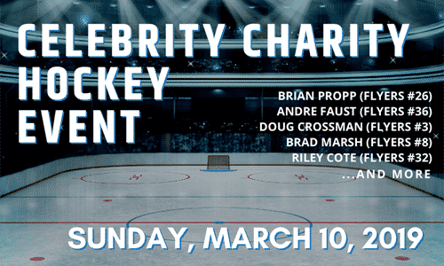 msri celebrity charity hockey event