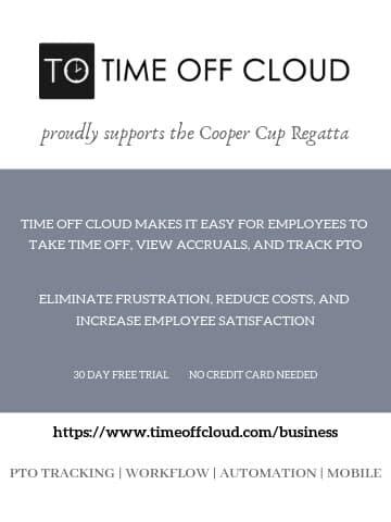 Time Off Cloud Quarter Page Sponsorship