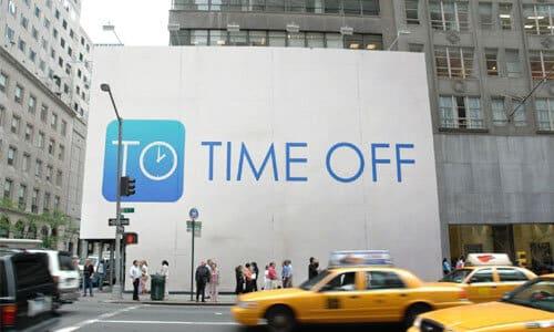 Time Off Billboard